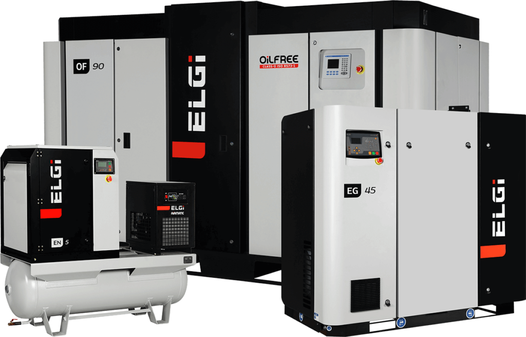 ELGi EG EN OF Fixed Variable Screw Air Compressors