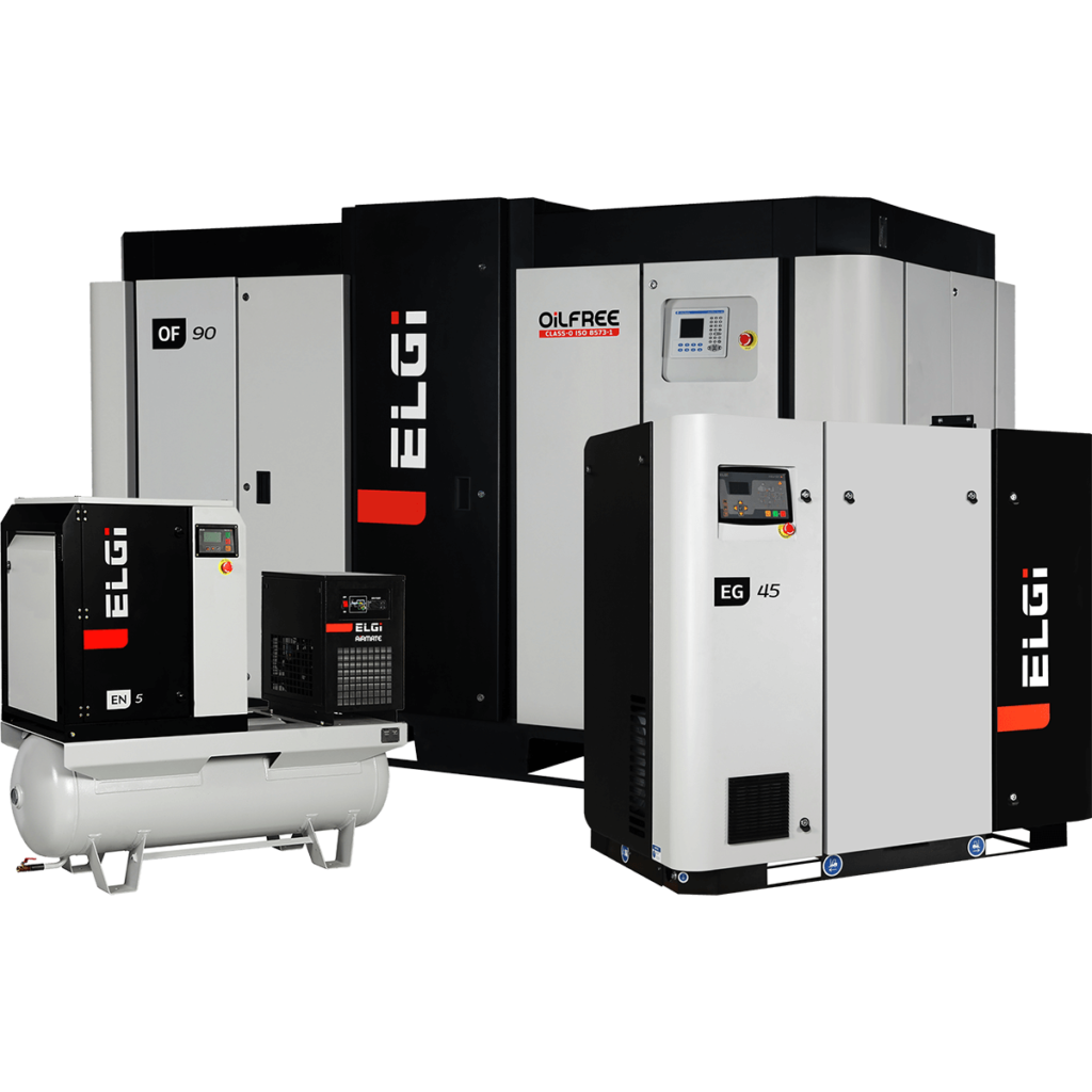 ELGi EG EN OF Fixed & Variable Screw Air Compressors